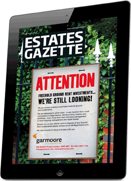 Estates Gazette iPad edition