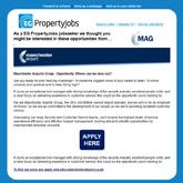 EG PropertyJobs Job Target Email